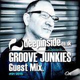 GROOVE JUNKIES 'EVAN LANDES' #03 (Exclusive Guest Mix)