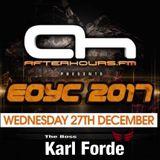 The Boss Karl Forde EOYC 2017 MIX AH.FM