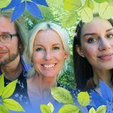 Victoria Skoglunds gröna fingrar är blåvita
