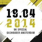 Laura Jones - Live @ Awakenings, UK Special (Gashouder, Amsterdam) - 19.04.2014