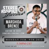 Stereo Assault Radio - Interview - Marshida Brenee