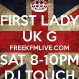 DJ TOUCH JANUARY 2014 PODCAST FEMININE PRESSURE SHOW SAT 8-10 WWW.FREEKFMLIVE.COM