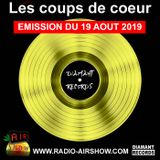 Les Coups de Coeur de Sonia Belolo - AIR SHOW et Diamant Records - 19 08 2019