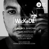 JACK CARTER - IBIZA LIVE RADIO - WICKED 7 RADIO SHOW 24 - JUNE - 2017