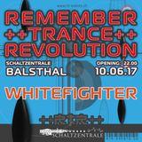 DJ Whitefighter live @ Remember Trance Revolution Part 1