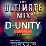 Nemesis - The Ultimate Mix Radio Show 13/1/2015 (Guest D-Unity)