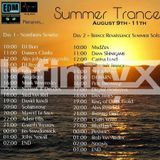 Infinity XTC Summer Trance Special - EDMCentral.FM Friday 9 August 2013