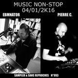RADIO S&SR Transmission n°993 -- 04.01.2016 (MUSIC NON STOP)