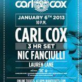 The BPM Festival / Carl Cox @ Blue Parrot / 2013.Jan.6th / Ibiza Sonica