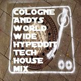 #Worldwide #Hypeddit #Techhouse #Charts mix by #Cologneandy #Technofamily #housefamily #house