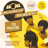 Live from Motown On Mondays DC 2-11-2019 - DJ Trayze - Opening Hour