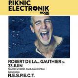 Robert De La... Gauthier At Piknik Elektronique R.E.S.P.E.C.T. June 23rd 2013 (Montreal, Canada)