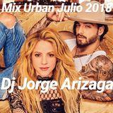 Dj Jorge Arizaga - Mix Urban Julio 2018