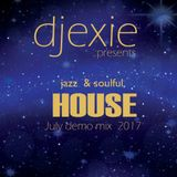 dj exie soulful & jazz House Music