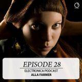 Electronica Podcast Episode 28 Alla Farmer
