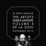 The Artists Series Mixtape Vol. 3 - De La Soul - November 2016