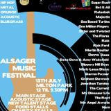 Alsager Music Festival 2013 promo special on RedShift Radio