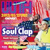 Soul Clap - Live @ Eleven, Tokyo 27/1/12 ahead of their 8 hour A Night With... marathon.