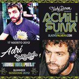 Sant Gaudenci DJ per al programa Achilifunk Radio Show de Txarly Brown - Agost 2012