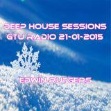 Deep House Sessions GTU radio 21-01-2015 Edwin Rutgers