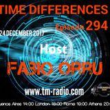 Fabio Orru - Time Differences 294 on TM Radio - 24-Dec-2017