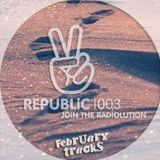 Republic 100.3 Radio > February 2016 Tracks