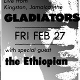 Gladiators w/ Yabby You / The Haunt / Ithaca, NY / 27 February 1987