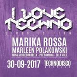 miss schreddarella @ girls united ilove techno 30.9.17 part 1