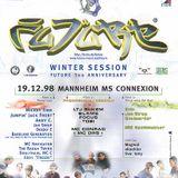 Blame + Mc Conrad & Mc DRS / Future Winter Session 19.12.1998 @ MS Connexion Mannheim, Germany
