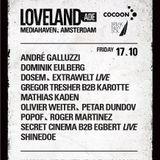 Secret Cinema & Egbert LIVE @ Cocoon - Loveland Amsterdam Dance Event 2014 - 17-10-2014