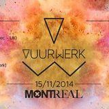 Chichou @ VUURWERK Montreal Leuven UPPER-ROOM   15-11-2014
