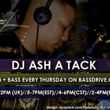 23th The just on track show with Ashatack  on Bassdrive 2012