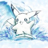 Pikachu's Surfing Lesson