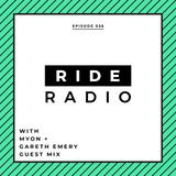 Ride Radio 056 with Myon + Gareth Emery Guest Mix