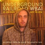 WBAI 99.5fm @ Underground Railroad Radio ~demomixtape~