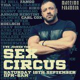 Massimo Paramour - Sex Circus - September 2018