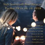 Night Sessions on The Moth FM - July 10, 2018