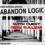 Ben Salem Guest mix Abandon Logic - DI.FM Progressive Channel 1-2017
