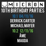 Kerouac & SMILE - Micron 10th Birthday Warmup Mix