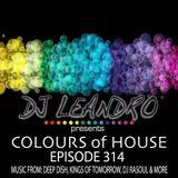 DJ Leandro presents 'Colours of House' - Episode #314