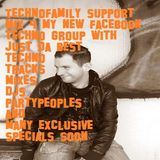 #Techno is not just #Music its our #Family Opening mix 4 my new #Technofamily #Group  #Cologneandy