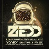 Funkagenda - Live at Zedd & Friends (Mansion, Miami) - 17.03.2013