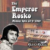 The Emperor Rosko - BBC Radio One - 27-9-1969
