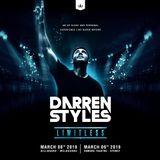 Darren Styles - Limitless Tour - Warm Up Mix