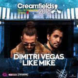Dimitri Vegas & Like Mike Live at Creamfields Taiwan 2018 (September 16 Day2)