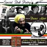 """""""Special Dub Poetry/Yasus AfarI"""" by Sista AurEl [8 déc. 2013] -VOTP Archives-Emission#09-Saison2"""