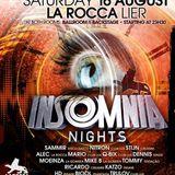 dj Sammir @ La Rocca - Insomnia Nights 16-08-2014