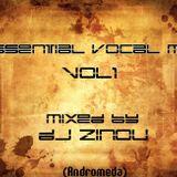 Essential Vocal Mix Vol 1 ( mixed by Dj zinou )