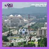 What's Up Abuja - The Podcast (Tues & Wed, 2nd & 3rd Oct 2018)