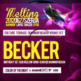 Becker - Melting (Culture Terrace - Bahnhof Beach) PROMOTIONAL ONLY